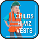Childrens Hi-Viz Safety Vest